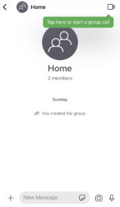 create group in signal app